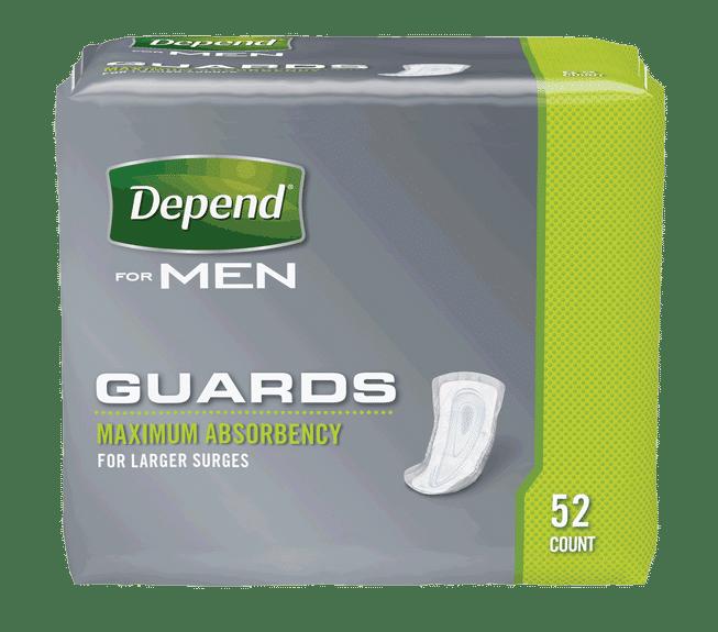 """Depend Guard For Men 12"""" Part No. 13792 (104/case)"""