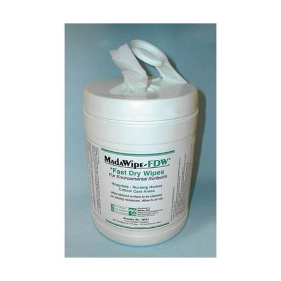 Mada Medical MadaCide FDW Plus / Wipes Tub/160 Part No.7032