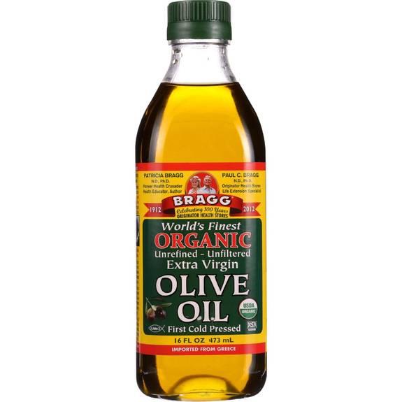 Bragg - Olive Oil - Organic - Extra Virgin - 16 Oz - 1 Each