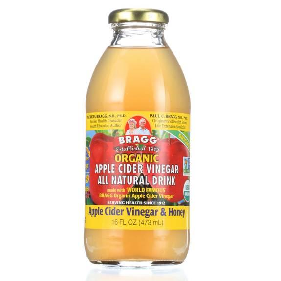 Bragg - Apple Cider Vinegar Drink - Organic - Acv And Honey - 16 Oz - Case Of 12