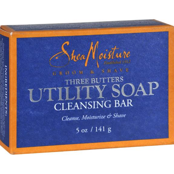 Shea Moisture Men's Utility Soap - 5 oz