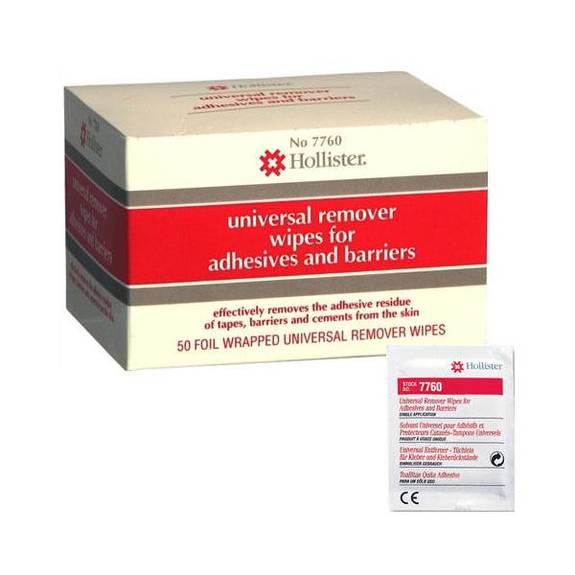 Universal Remover Wipes Part No. 7760us (50/package)
