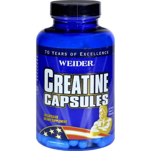 Weider Creatine Capsules - 150 Capsules