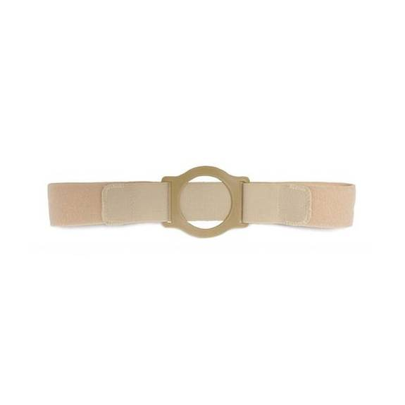 "Nu-Comfort 2"" Wide Beige Support Belt 2-3/4"" I.D. Ring Plate 41"" - 46"" Waist X-Large, Latex-Free Part No. BG-2626-A Qty 1"