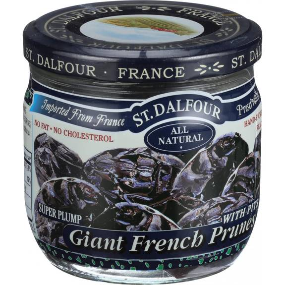 St Dalfour Prunes - French - Giant - With Pits - 7 oz - Case of 6