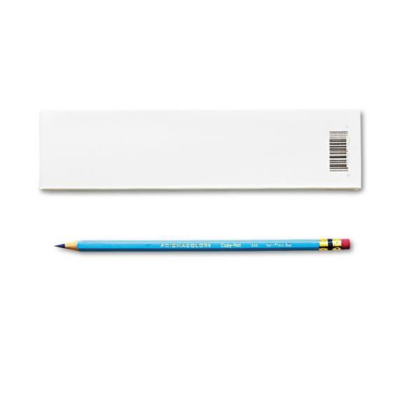 Col-Erase Pencil W/eraser, Non-Photo Blue Lead/barrel, Dozen
