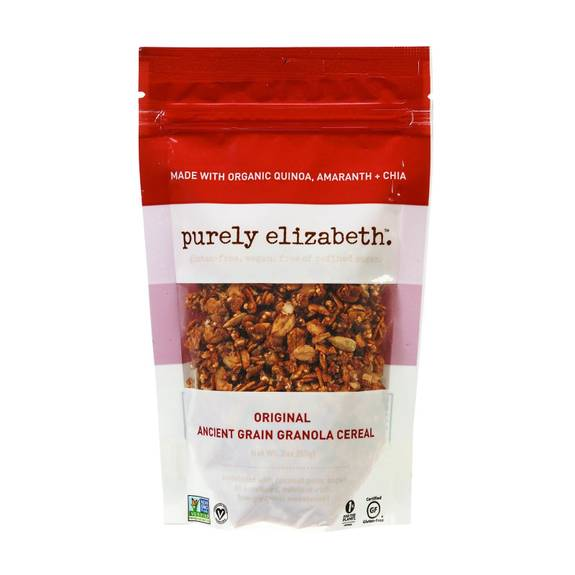Purely Elizabeth Ancient Grain Granola Cereal - Original - 2 oz - Case of 8