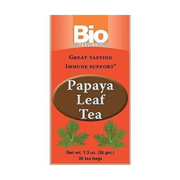 Bio Nutrition Inc Tea - Papaya Leaf - 30 bags