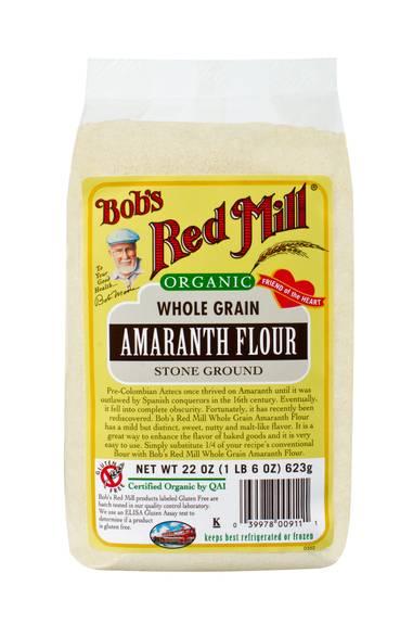 Bob's Red Mill - Organic Amaranth Flour - 22 Oz - Case Of 4