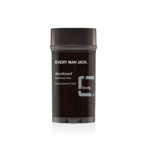 Every Man Jack Body Deodorant - Fragrance Free - 3 oz