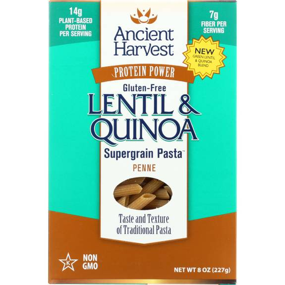 Ancient Harvest Pasta - Penne - Case Of 6 - 9.6 Oz.