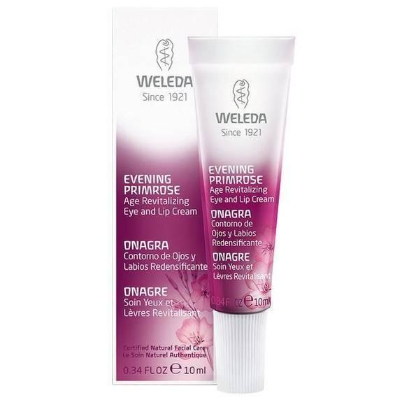 Weleda Eye and Lip Cream - Age Revitalizing - Evening Primrose - .34 oz