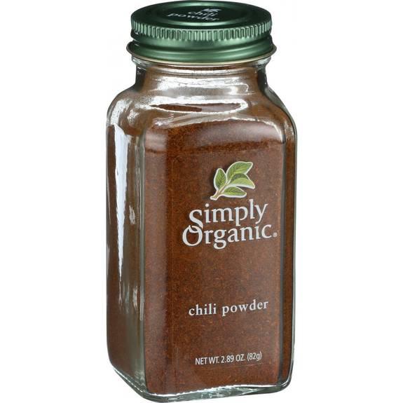 Simply Organic Chili Powder - Organic - 2.89 oz