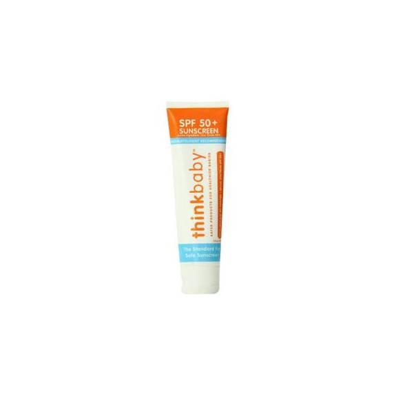 Thinkbaby Safe Sunscreen Spf 50+, 3 Oz Part No. Livesunbaby3 (1/ea)