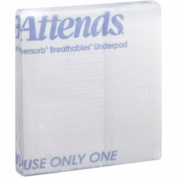 "Attends Supersorb Breathables Underpad 30"" X 36"" Part No. Asb-3036 (60/case)"