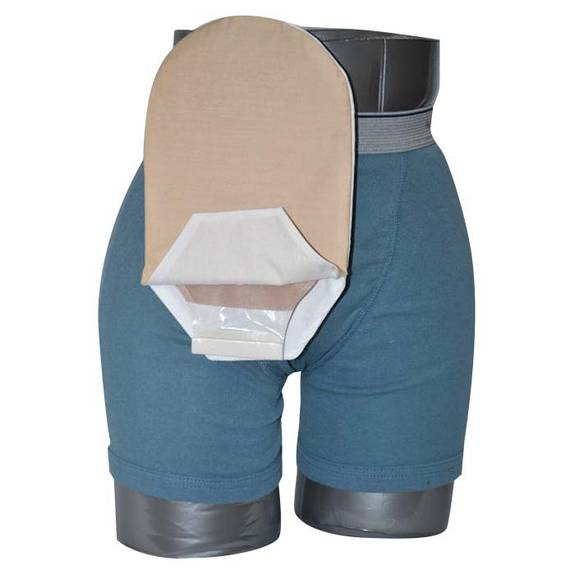 "Daily Wear Pouch Cover, Open End, Fits Flange Opening of 3/4"" to 2-1/4"", Overall Length 10"", Tan Part No. 58280-1 Qty 1"
