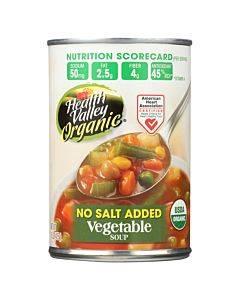 Health Valley Organic Soup - Vegetable No Salt Added - Case Of 6 - 15 Oz.