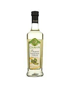 Colavita - Prosecco White Wine Vinegar - Case Of 12 - 0.5 Liter