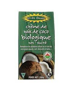 Let's Do Organics Organic Creamed - Coconut - Case Of 6 - 7 Oz.