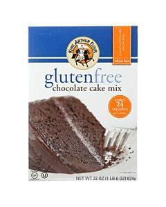 King Arthur Chocolate Cake - Case Of 6 - 22 Oz.