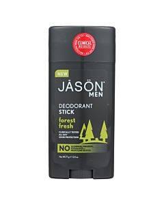 Jason Natural Products Deodorant Stick - Forrest Fresh - 2.5 Oz.
