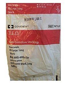 T.e.d. Knee-length Anti-embolism Stockings, Size 2x-large, Long Part No. 7471lf (1/ea)