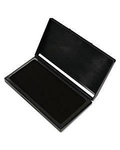 Microgel Stamp Pad For 2000 Plus, 2 3/4 X 4 1/4, Black
