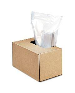 Shredder Waste Bags, 50 Gal Capacity, 50/carton