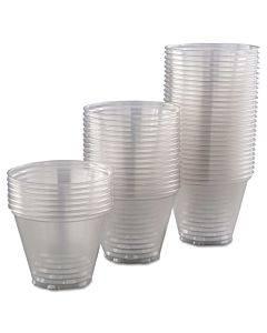 Ultra Clear Pet Cups, 9 Oz, Squat, 50/bag, 20 Bags/carton