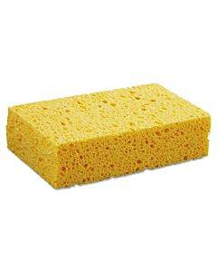 "Medium Cellulose Sponge, 3 2/3 X 6 2/25"", 1.55"" Thick, Yellow, 24/carton"