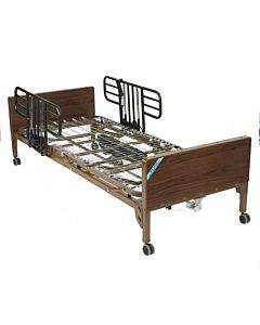 Delta Ultra Light Semi Electric Hospital Bed With Half Rails