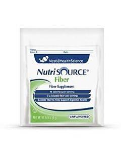 Nutrisource Fiber Unflavored Powder Supplement 4 G Packet Part No. 4390097648 (1/ea)