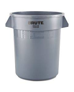 Brute Round Container, 20 Gal, Gray