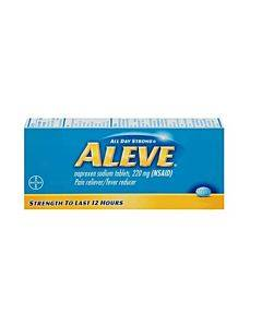 Aleve All Day Strong Pain Reliever, Fever Reducer, Caplets Part No. 3-25866-00102-3 (1/ea)
