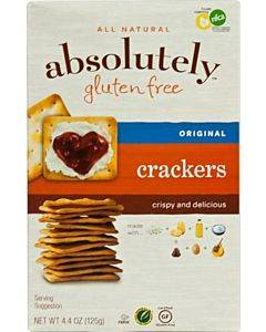 Absolutely Gluten Free - Crackers - Original - Case Of 12 - 4.4 Oz.