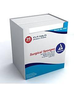 Gauze Sponge Cotton 8-Ply 4 X 4 Inch Square Sterile(600/CA)