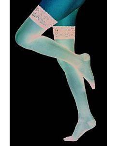 Compression Stocking Loving Comfortâ® Thigh High Small Black Closed Toe(2/pr)
