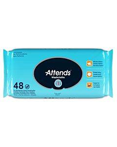 Personal Wipe Attendsa® Soft Pack Aloe Unscented 48 Count(576/ca)
