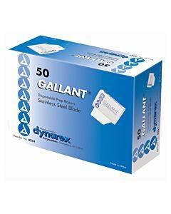 Surgical Prep Razor Gallantâ® Single Blade Disposable(50/bx)