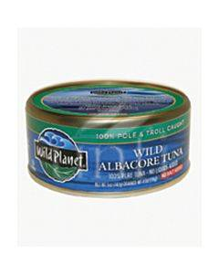 Wild Planet Wild Albacore Tuna - No Salt Added - Case Of 12 - 5 Oz.
