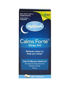 Hylands Homeopathic Calms Fort? - Sleep Aid - 100 Tablets