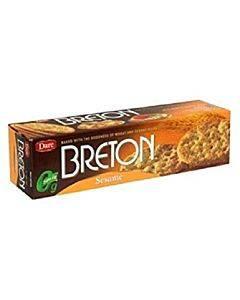 Breton/dare - Crackers - Sesame - Case Of 12 - 8 Oz.