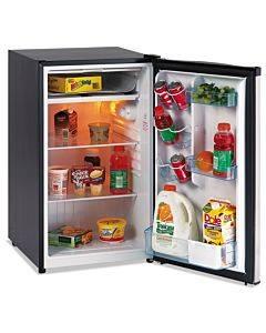 "4.4 Cf Refrigerator, 19 1/2""w X 22""d X 33""h, Black/stainless Steel"