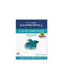 Premium Laser Gloss Print Paper, 94 Bright, 32lb, 8.5 X 11, White, 300/pack