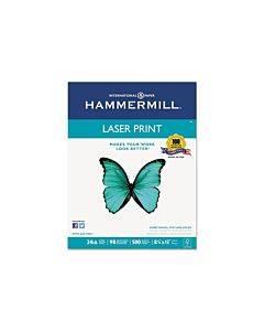 Premium Laser Print Paper, 98 Bright, 24lb, 8.5 X 11, White, 500/ream