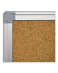 Earth Cork Board, 48 X 72, Aluminum Frame