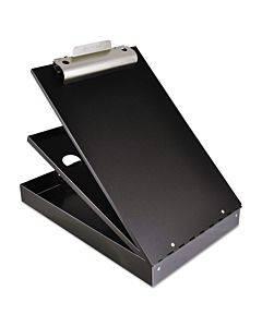 "Cruiser Mate Aluminum Storage Clipboard, 1 1/2"" Clip Cap, 8.5 X 12 Sheets, Black"