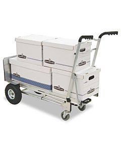 3-in-1 Convertible Hand Truck, 800-1000lb Cap., 21.06 X 21.85 X 48.03, Aluminum