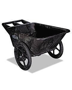 Big Wheel Agriculture Cart, 300-lb Capacity, 32.75w X 58d X 28.25h, Black