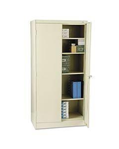 "72"" High Standard Cabinet, 36w X 18d X 72h, Putty"